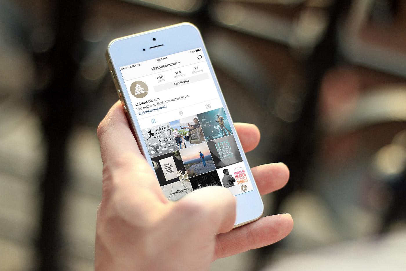 12Stone Church Social Media